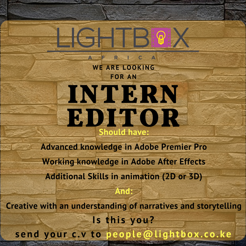 Intern Editor