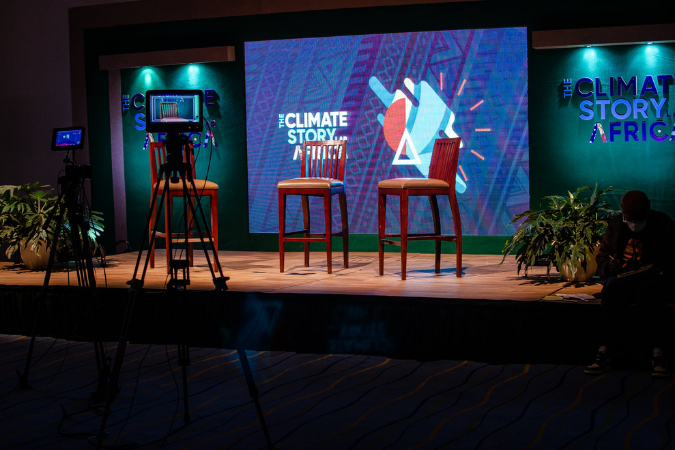 Part of the conversation: Climate Story Lab Africa